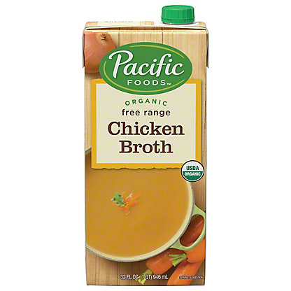 Pacific Foods Organic Free Range Chicken Broth3200 Oz Central Market
