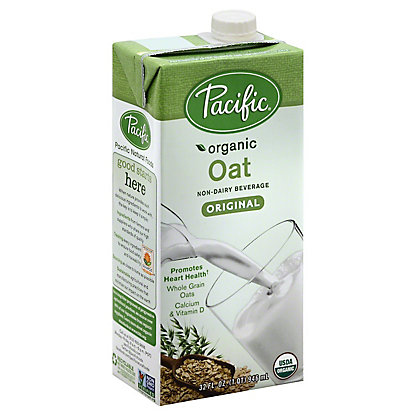 Pacific Organic Oat All Natural Non-Dairy Low Fat Original Beverage, 32 oz
