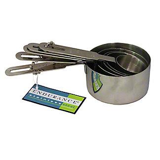 RSVP INTERNATIONAL RSVP Endurance Measuring Cups 5 Pc. Measuring Cups, 1EA