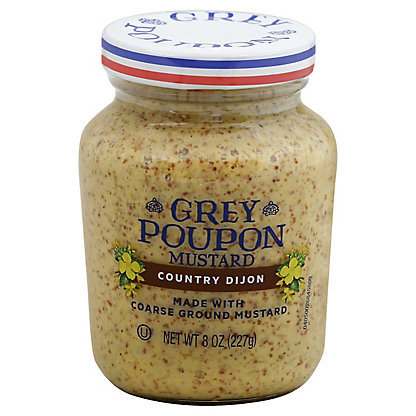 Grey Poupon Country Dijon Mustard,8.00 oz