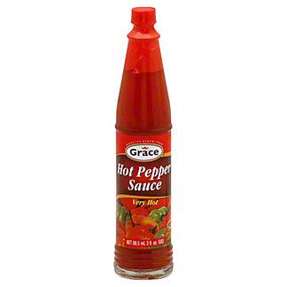 Grace Very Hot Pepper Sauce,3 OZ