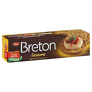 Dare Breton Sesame Crackers,8 OZ