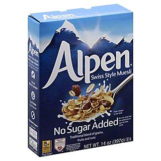 Alpen No Sugar Added Muesli, 14 oz