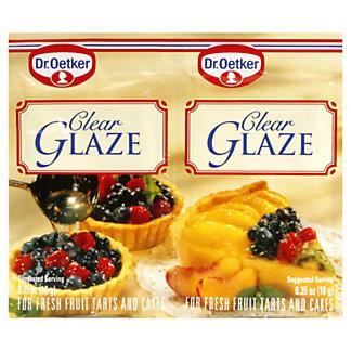 Dr Oetker Clear Glaze, .66 OZ