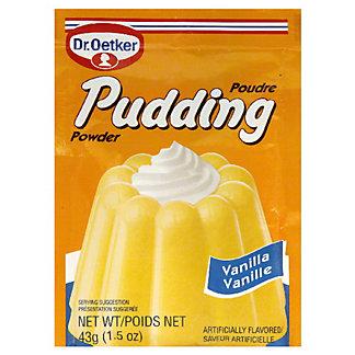 Dr Oetker Vanilla Pudding, 1.5OZ