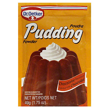 Dr. Oetker Poudre Pudding Power Chocolate,1.75 oz (49 g)