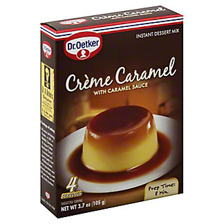 Dr Oetker Caramel Creme Mix,3.7 OZ