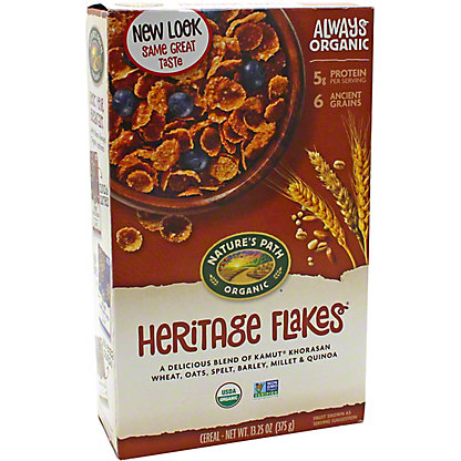 Nature's Path Organic Heritage Flakes Cereal, 13.25 oz