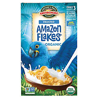 Nature's Path EnviroKidz Organic Amazon Frosted Flakes Cereal,14 OZ