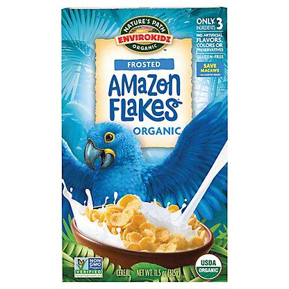 Nature's Path EnviroKidz Organic Amazon Frosted Flakes Cereal,14 OZ
