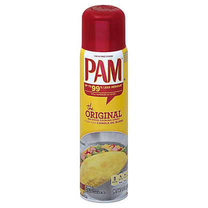 Pam Original No-Stick Cooking Spray,8 OZ