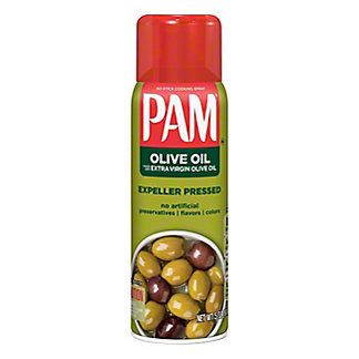 Pam Olive Oil No-Stick Cooking Spray,5 OZ