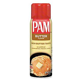 Pam Butter Flavor No-Stick Cooking Spray,5 OZ