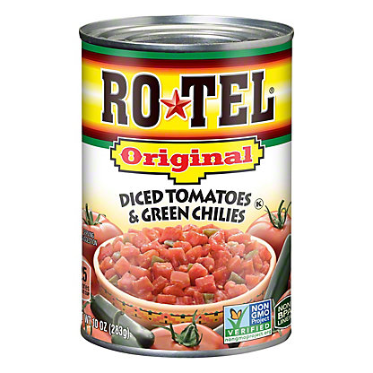 Rotel Original Diced Tomatoes and Green Chilies,10 OZ