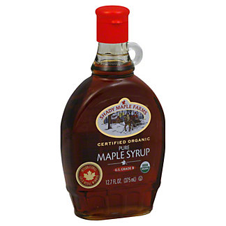 Shady Maple Farms Certified Organic Pure Maple Syrup,12.7 OZ