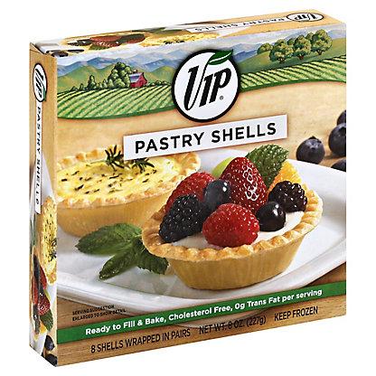 VIP Pastry Shells,8 ct