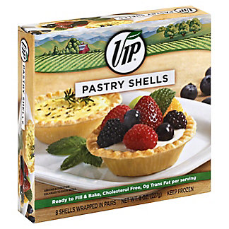 VIP Pastry Shells,8 ct