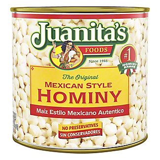 Juanita's Mexican Style Hominy,25 oz
