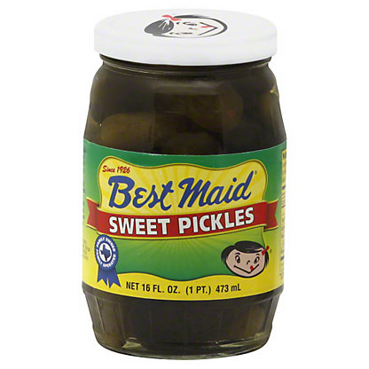 Best Maid Sweet Pickles,16 OZ