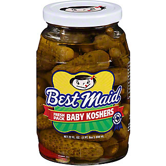 Best Maid Baby Kosher Pickles,22 OZ