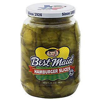 Best Maid Hamburger Slices Pickles,32.00 oz