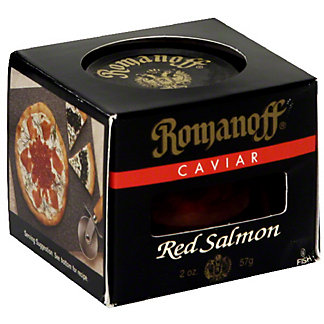 Romanoff Red Salmon Caviar,2 oz