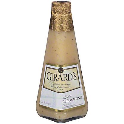 Girard's Light Champagne Dressing, 12 oz