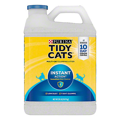 Tidy Cats Scoop Instant Action Cat Litter For Multiple Cats,20 LBS