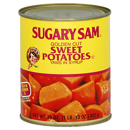 Sugary Sam Golden Cut Sweet Potatoes, 29 oz