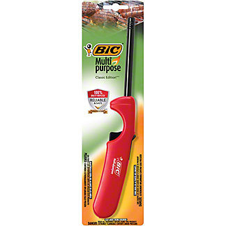 Bic Multi-Purpose Classic Edition Lighter, Assorted Colors,EACH