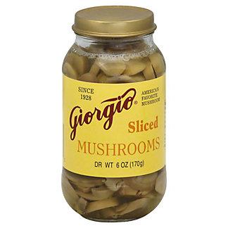 Giorgio Sliced Mushrooms, 6 oz