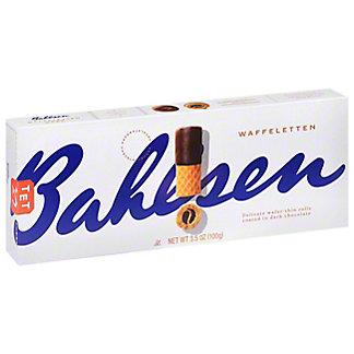 Bahlsen Dark Chocolate Dipped Waffeletten Wafer Rolls,3.5 OZ
