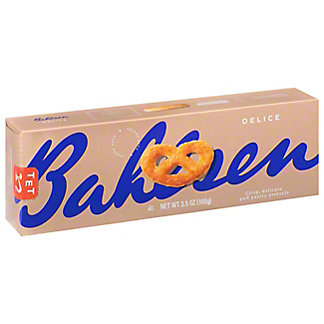 Bahlsen Delicata Puff Pastry Pretzel, 3.5 oz