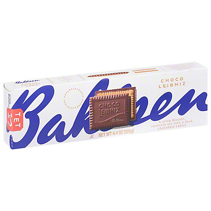 Bahlsen Dark Chocolate Biscuits,4.4 OZ