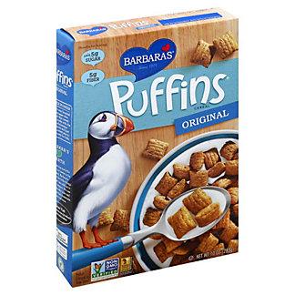 Barbara's Original Puffins Cereal, 10 oz