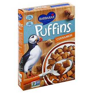 Barbara's Cinnamon Puffins Cereal, 10 oz