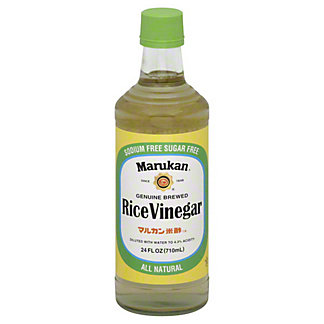 Marukan Genuine Brewed Rice Vinegar,24 OZ