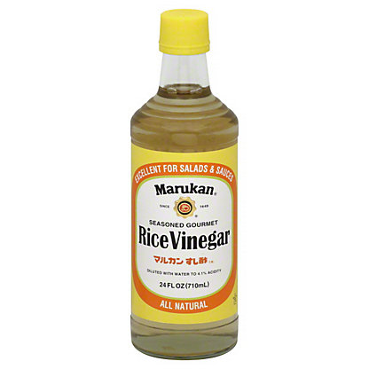 Marukan Seasoned Gourmet Rice Vinegar, 24 OZ