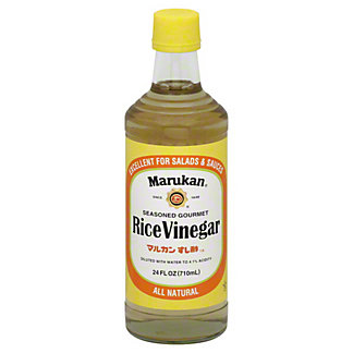 Marukan Seasoned Gourmet Rice Vinegar, 24 OZ
