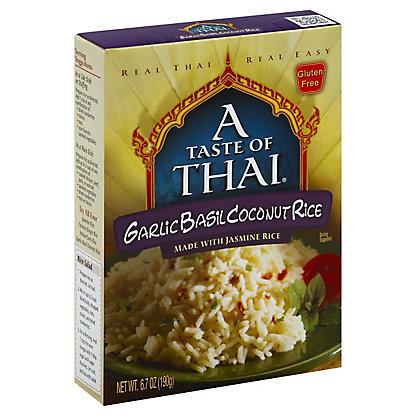 A Taste of Thai Garlic Basil Coconut Rice,6.7 OZ