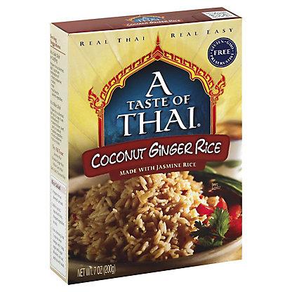 A Taste of Thai Coconut Ginger Rice, 7 oz