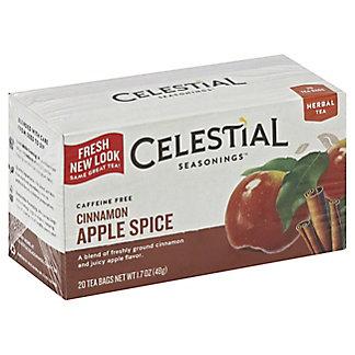 Celestial Seasonings Caffeine Free Cinnamon Apple Spice Herbal Tea Bags, 20 ea