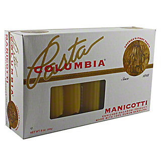 Columbia Manicotti Pasta,8 OZ