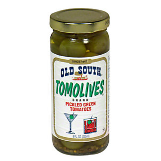 Old South Tomolives Pickled Green Tomatoes, 8 OZ