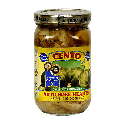 Cento Quartered and Marinated Artichoke Hearts,12 oz