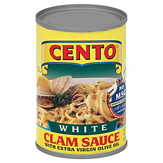 Cento Extra Virgin Olive Oil White Clam Sauce,10.5 OZ