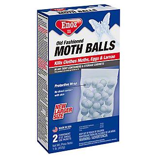 Enoz Old Fashion Moth Balls, 14 oz