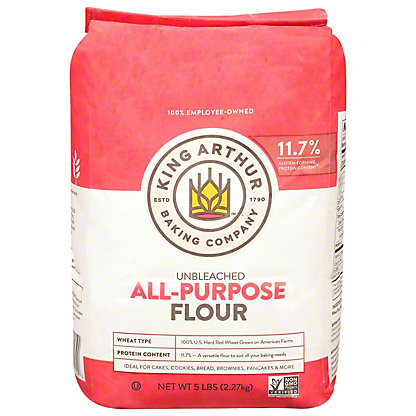 King Arthur Unbleached All-purpose Flour, 5 lbs
