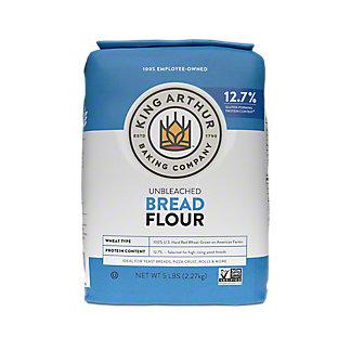 King Arthur Unbleached Bread Flour,5 LBS