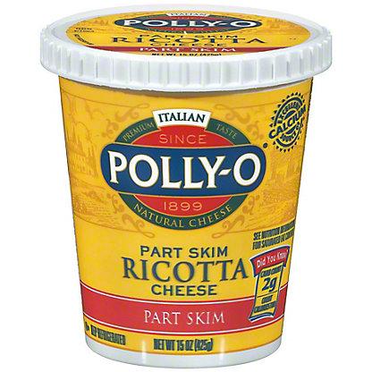 Polly O Part Skim Ricotta Cheese,15 OZ
